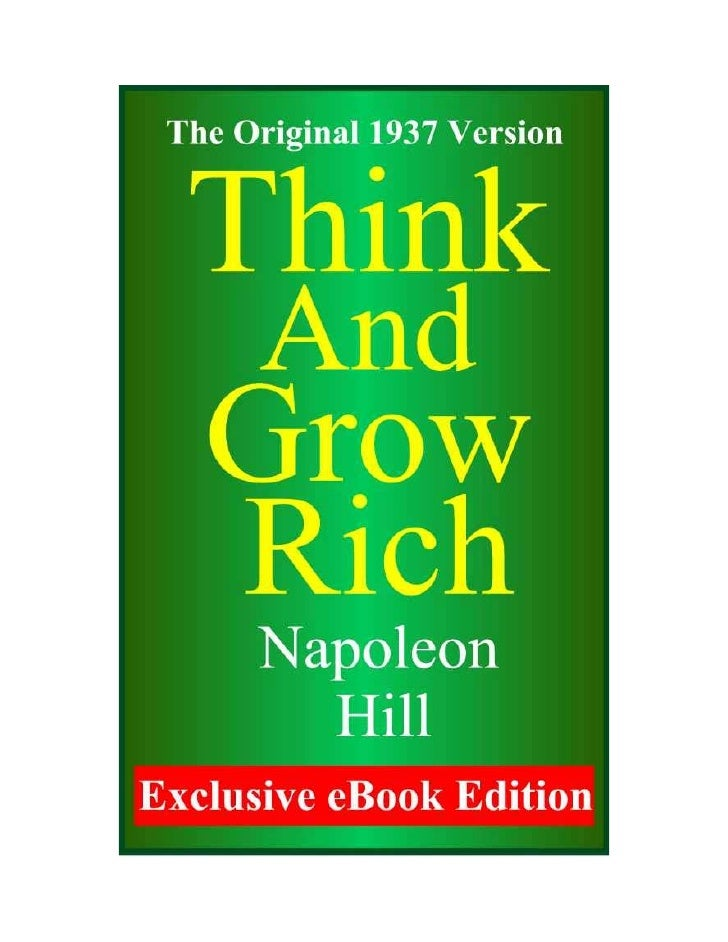 "Forward       Perhaps no other ""success"" book has influenced more peoplethan Napoleon Hill's Classic ""Think and Grow Rich...."