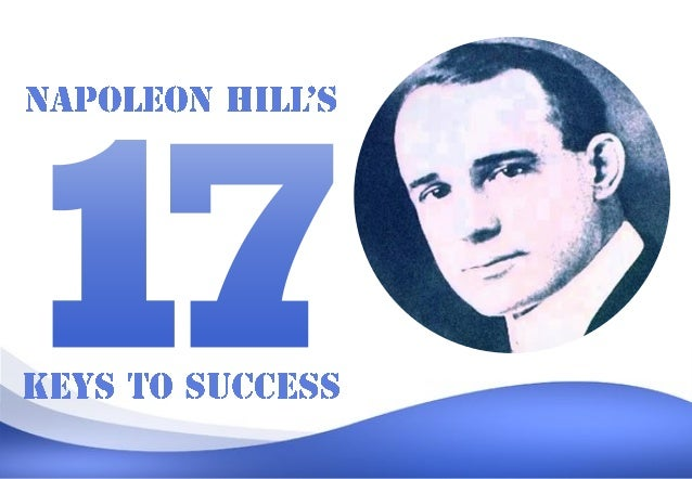 Napoleon Hill (1883 – 1970) was an American author in the area of the new thought movement who was one of the earliest pro...