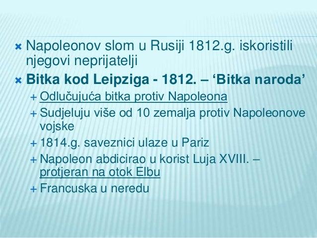 Napoleonov slom i bečki kongres Slide 2