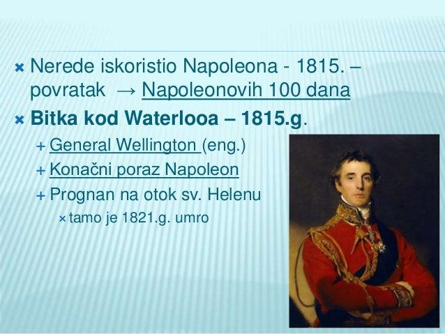Napoleonov slom i bečki kongres Slide 3