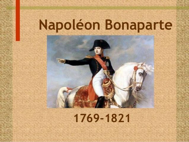Napoléon Bonaparte  1769-1821