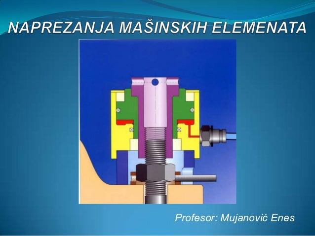 Profesor: Mujanović Enes