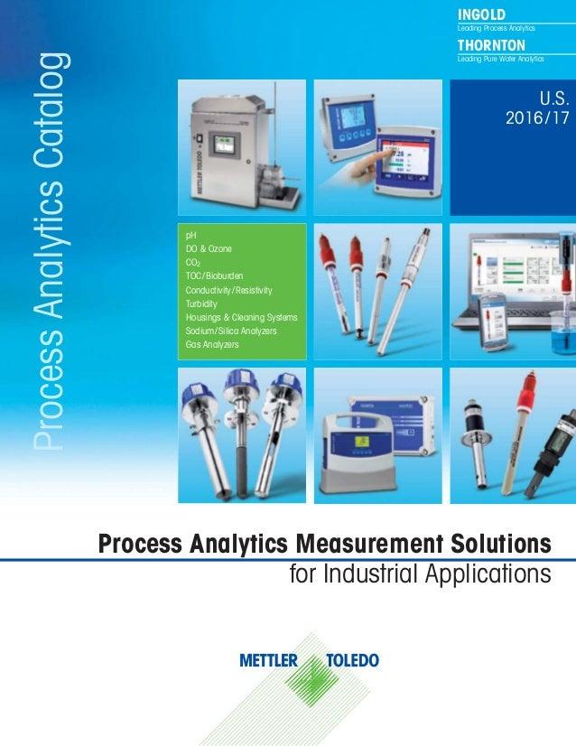 INGOLD Leading Process Analytics THORNTON Leading Pure Water AnalyticsProcessAnalyticsCatalog Process Analytics Measuremen...