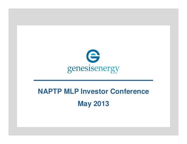 NAPTP MLP Investor Conference May 2013
