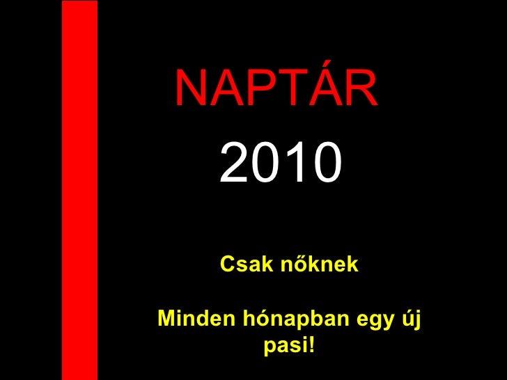 naptár 2010 november NaptáR NőKnek 2010 naptár 2010 november