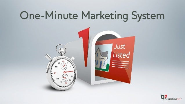 One-Minute Marketing System
