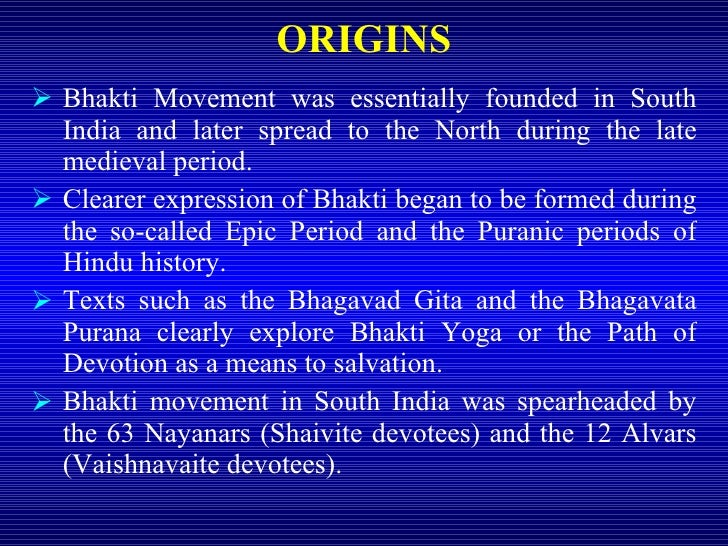 history of bhakti movement Book summary: abstract the present book, religious movements in medieval india, attempts to explore the bhakti movement in medieval india beginning from the.