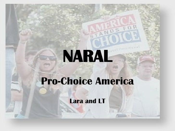 NARAL Pro-Choice America Lara and LT