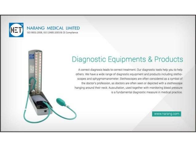 Narang Medical Limited - Manufacturer & Suppliers of Medical Equipment.