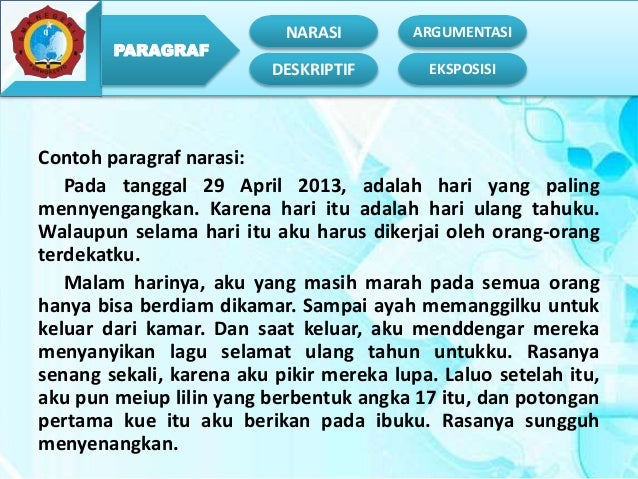 Narasi Bahasa Indonesia Kelas Xi Smk