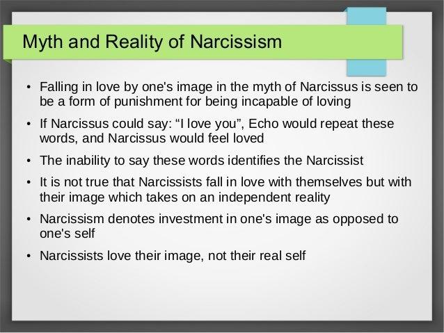 I love a narcissist