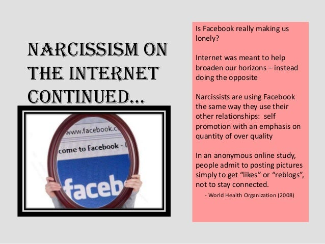 Narcissist Facebook
