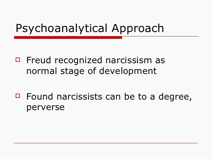 Image result for freud narcissistic stage