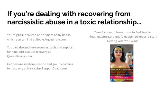 Narcissistic abuse recovery support: Let go of inferiority
