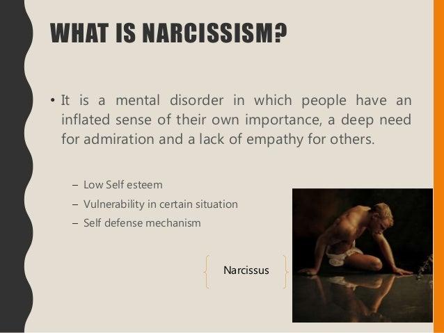 Narcissistic men symptoms