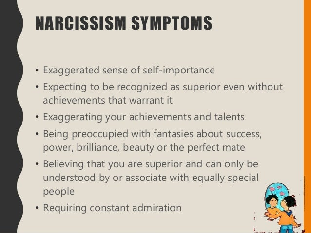 Narcissistic perfectionist disorder