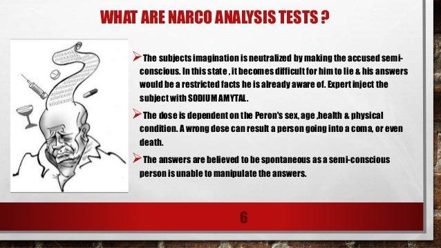 Narco analysis