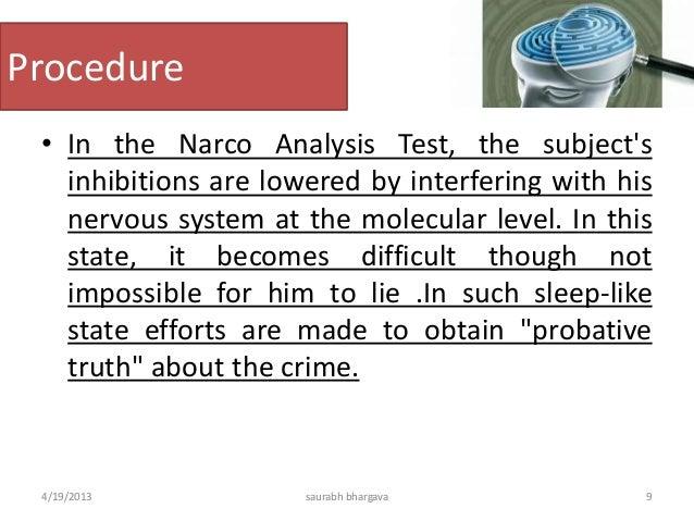 The Term Narcoysis Was Coined Byhorseley  Saurabh Bhargava