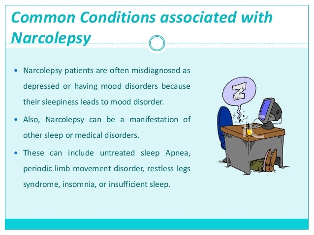 an examination of common sleep disorders insomnia and narcolepsy Here are some of the most common types the sleep disorders and other mental illnesses are associated with insomnia narcolepsy a shift work sleep disorder.