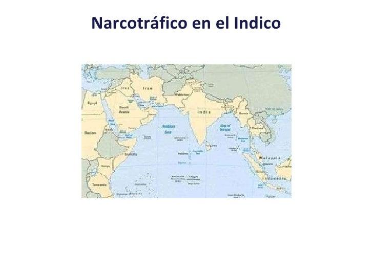 Narcotráfico en el Indico