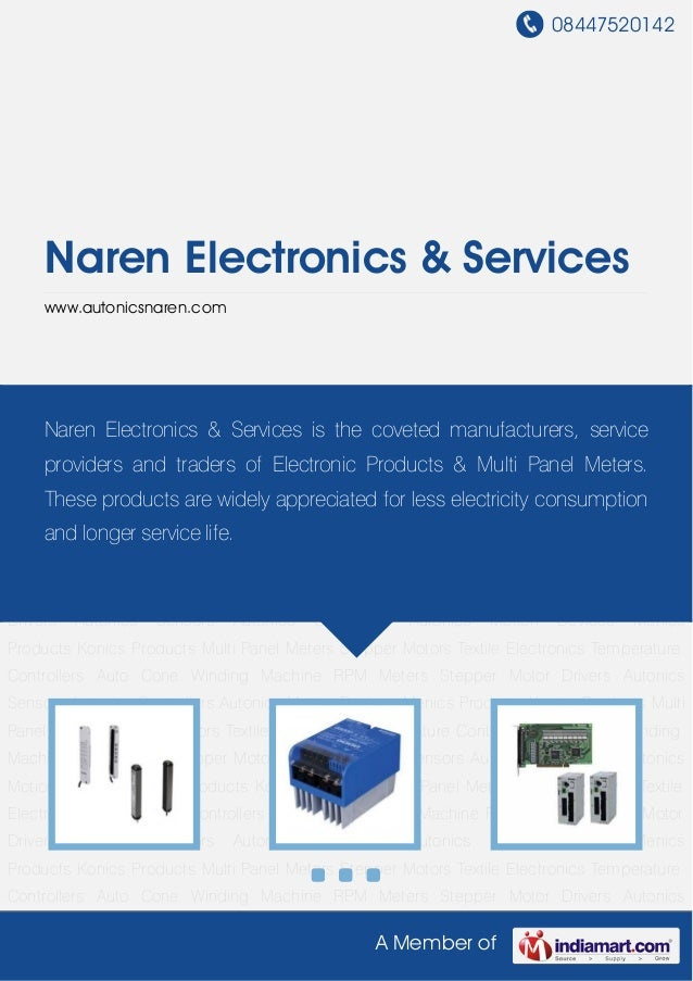 08447520142A Member ofNaren Electronics & Serviceswww.autonicsnaren.comAutonics Sensors Autonics Controllers Autonics Moti...