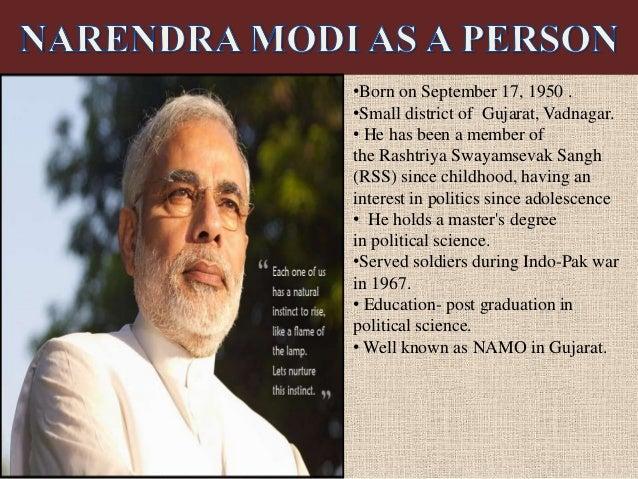 narendra modi 2 essay