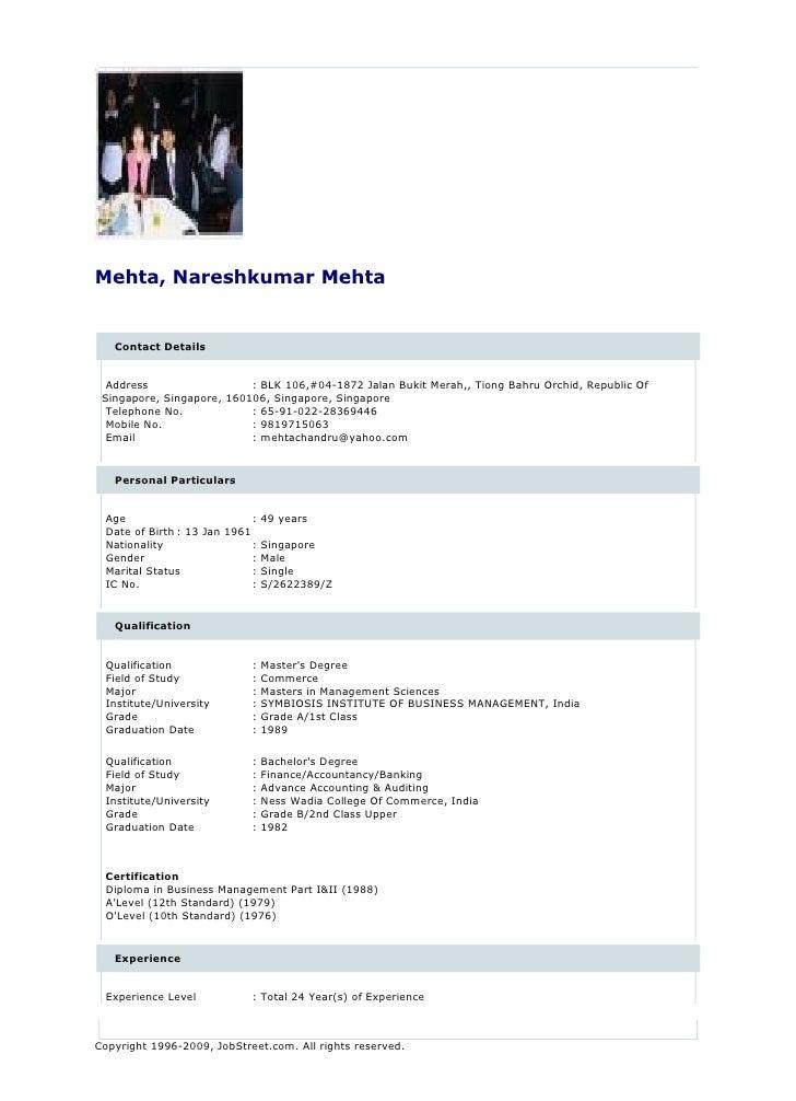 Mehta, Nareshkumar Mehta      Contact Details     Address                  : BLK 106,#04-1872 Jalan Bukit Merah,, Tiong Ba...