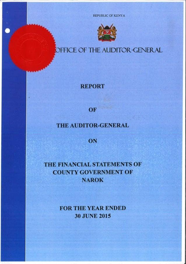 Narok  2014-2015