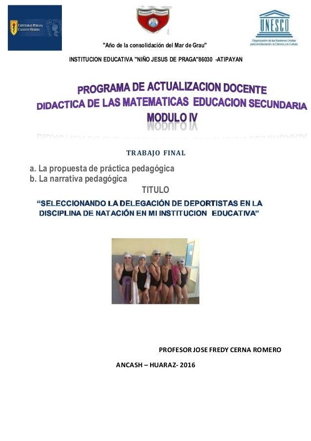 Narracion pedagogica .i