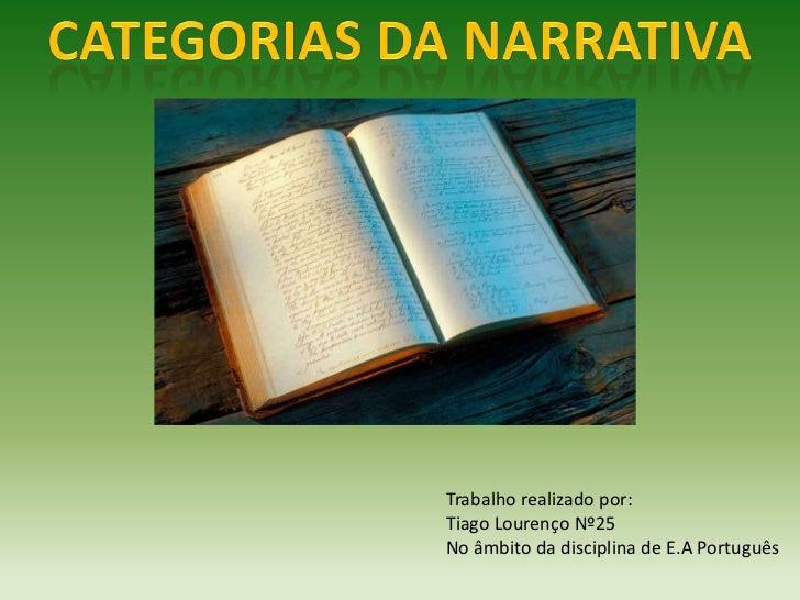 Trabalho realizado por:Tiago Lourenço Nº25No âmbito da disciplina de E.A Português