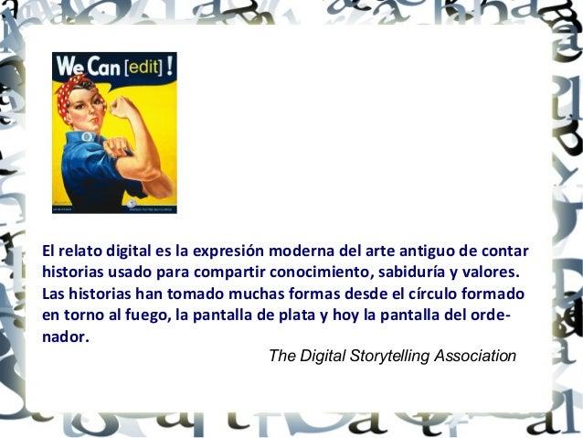 Narrativa digital - Taller del I Encuentro de docentes de lenguas