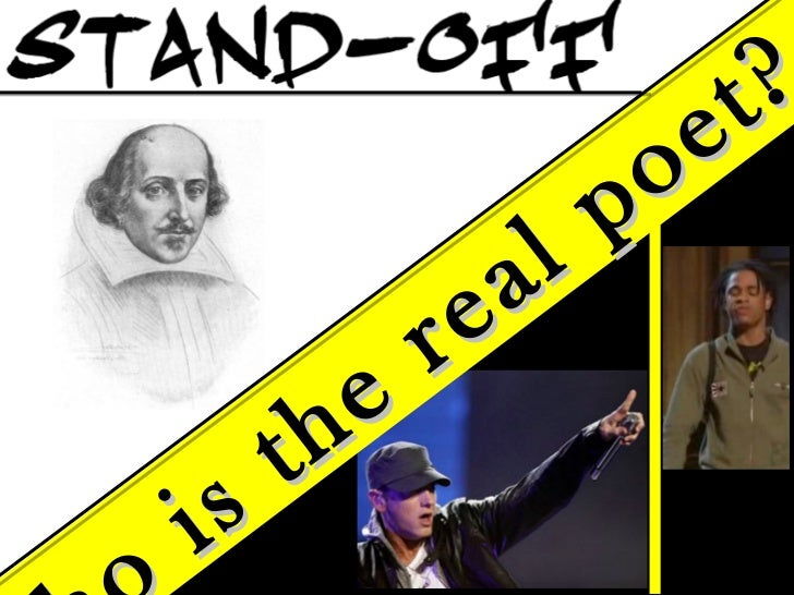 Who is the real poet?