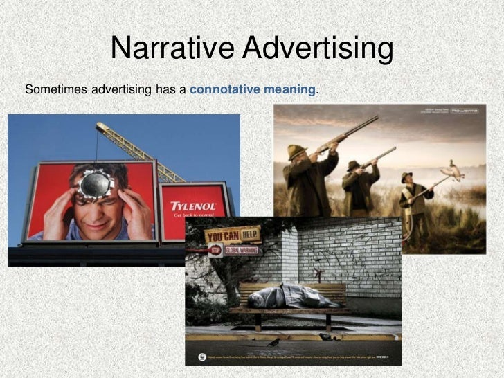 narrative advertising