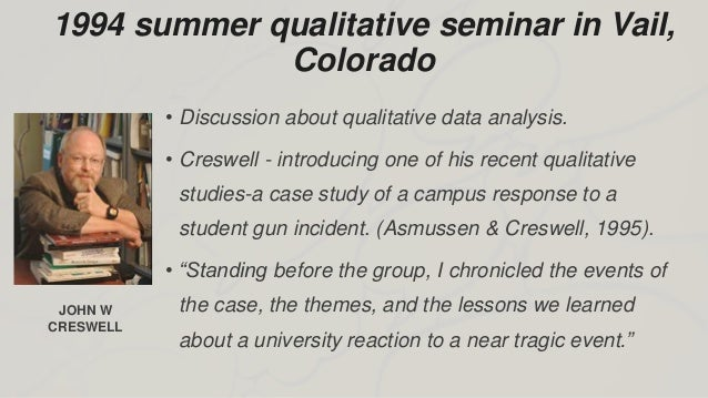 Narrative case study SlideShare    Types