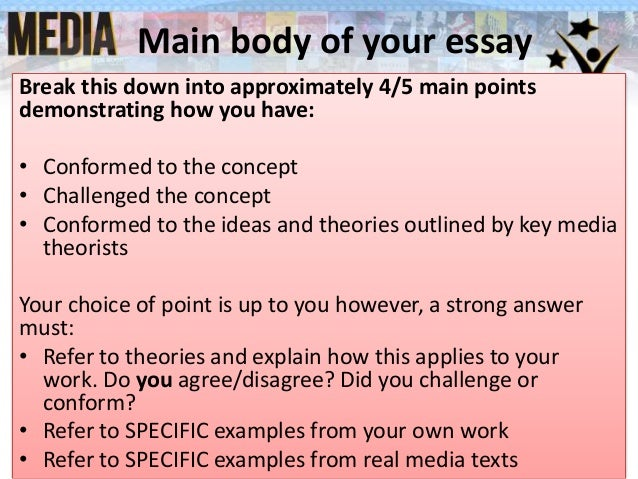 explaining a concept essay outline Once the essay is in draft form, you can rewrite your introduction with a  order to  exchange ideas and experiences, help each other clarify key concepts, and in.