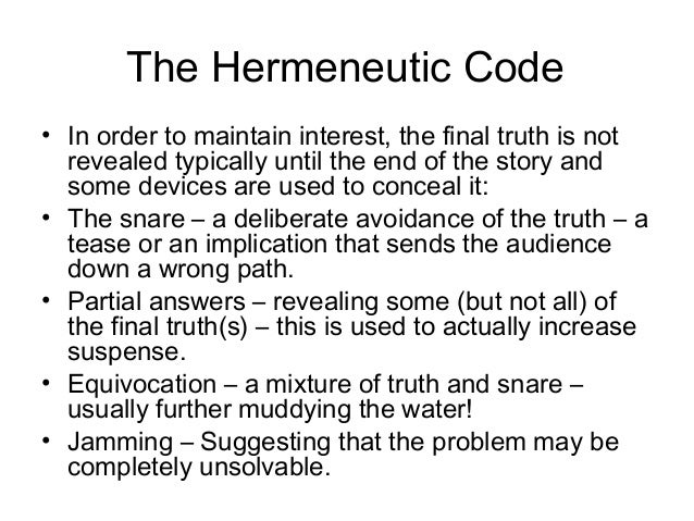 narrative codes In this lesson, we will examine various types of narrative techniques in writing, as well as examples of the literary techniques relevant to style.