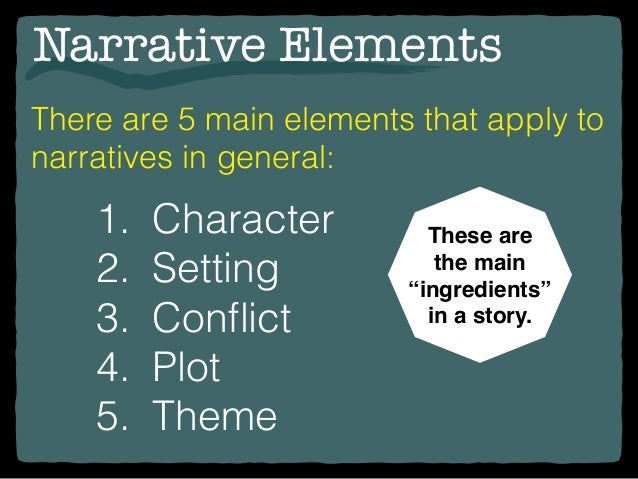 Theme and Narrative Elements in the Short Story - Essay Example