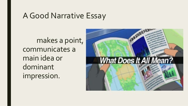 Dominant impression essay