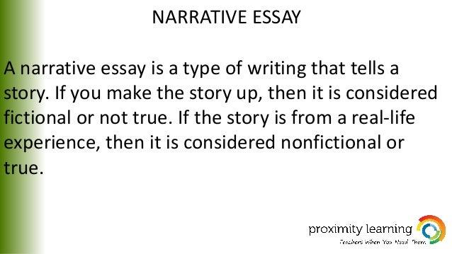 narrative essay narrative essay