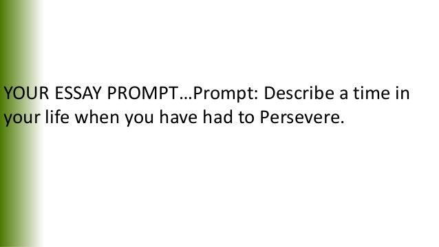 Narrative essay plot