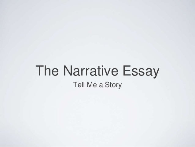 narrative essay outline