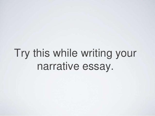 narrative essay outline examples