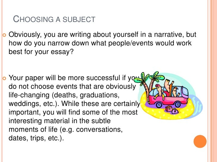 narrative essay presentation writing a narrative<br > 8