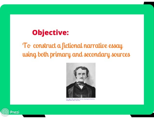 narrative essay objectives Writing sample of essay on a given topic objectives of samsung.
