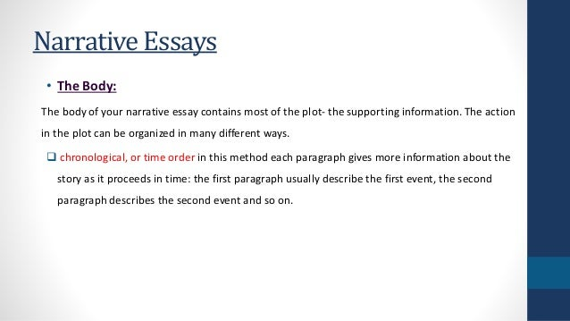 narrative essays 8 narrative essays • the body