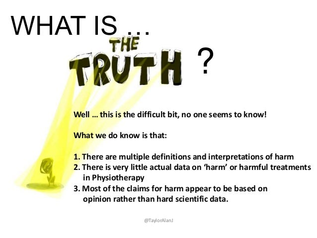 WHAT IS … ? Well … this is the difficult bit, no one seems to know! What we do know is that: 1. There are multiple definit...