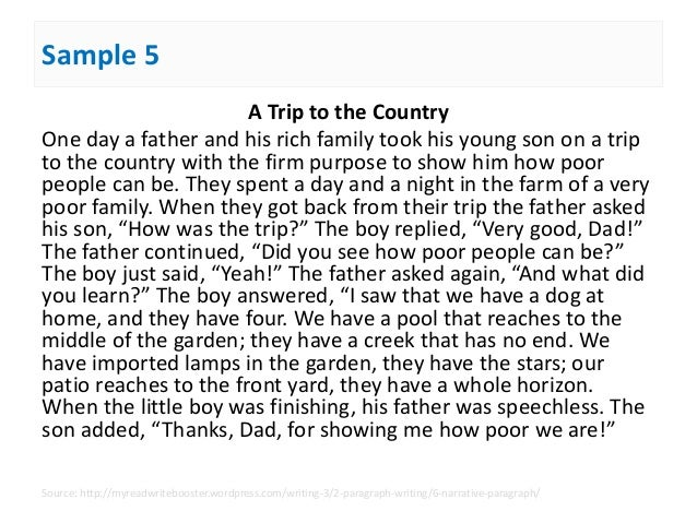 descriptive paragraph of my dad My parents father mother, my family, my home, english essay for class 3 by   the paragraph below is just a guideline for you to help you write your own.