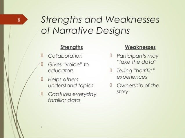 Strengths and Weakness of Qualitative & Quantitative Research Designs
