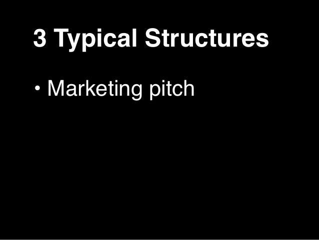 Marketing Pitch