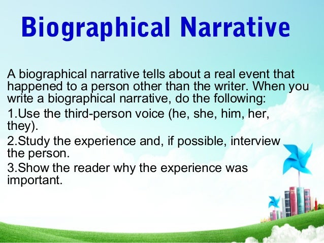 'the narrative voice is an important Example #1: various works (by multiple authors) stream of consciousness voice stream of consciousness is a narrative voice that.